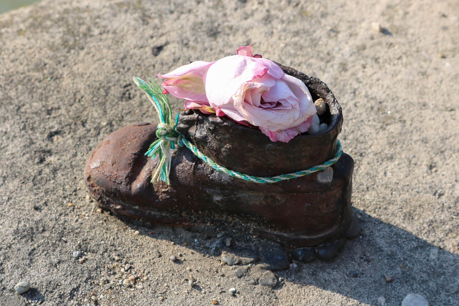 Budapest Hungary Shoes On The Danube Memorial Baby Shoe